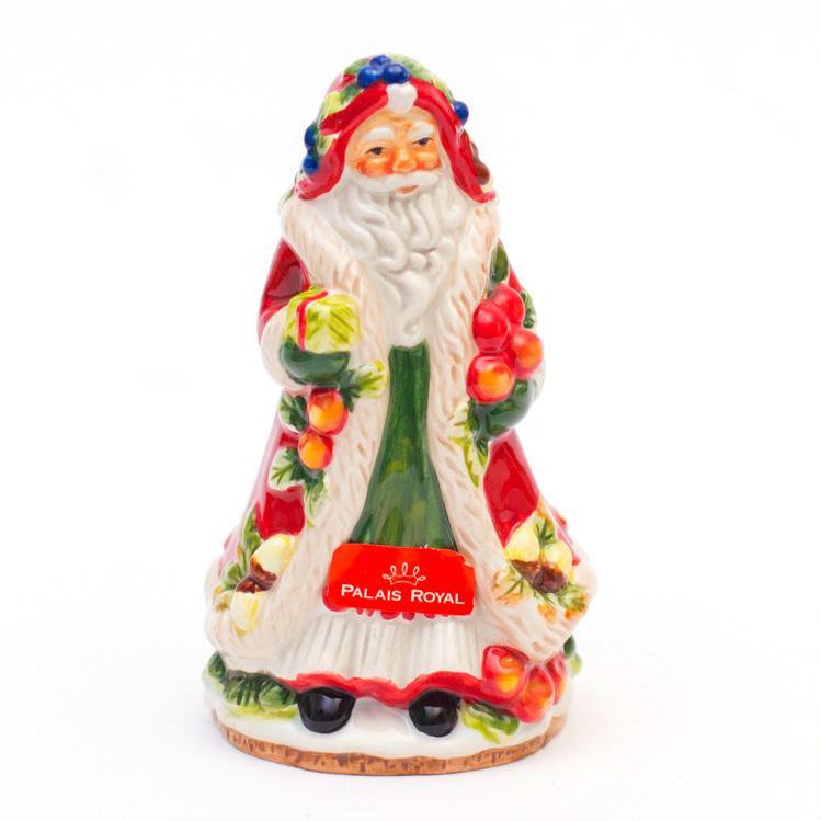 """Маленький фарфоровый колокольчик """"Добрый Санта"""""""