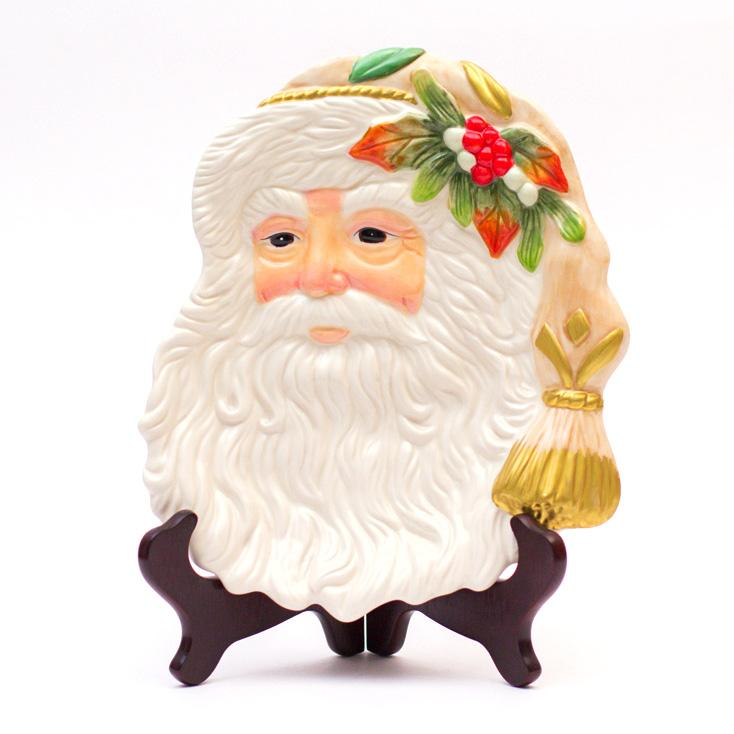 """Фигурное блюдо в виде Деда Мороза """"Новый год"""""""