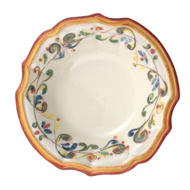Тарелка суповая керамическая ручной работы Mara
