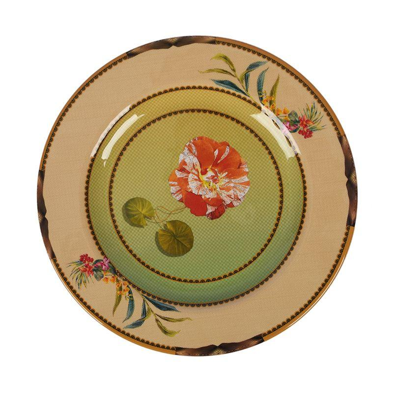Тарелка обеденная из меламина с цветами Ete Savage