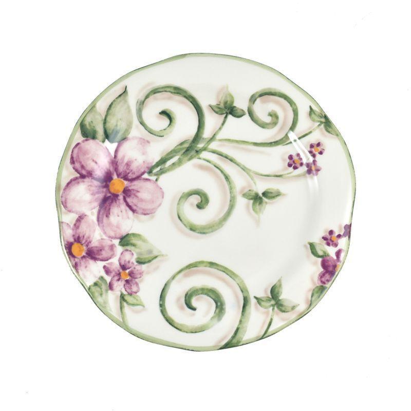 Тарелка десертная Bizzirri Samantha 22 см