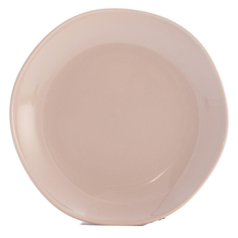 Тарелка десертная бежевая Ritmo