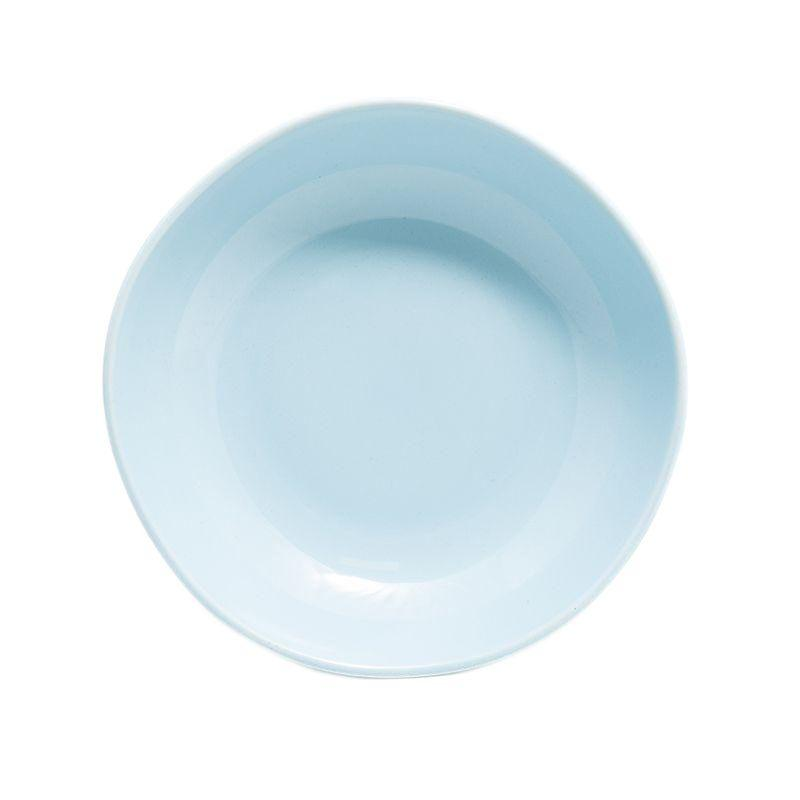 Тарелка для супа Ritmo светло-голубая