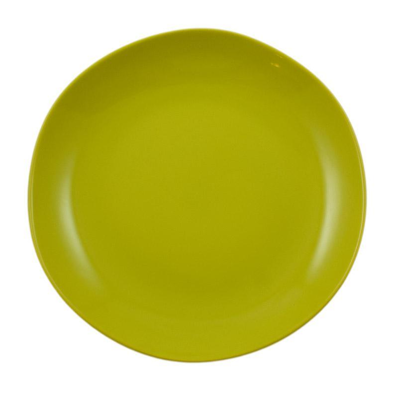 Набор из 6-ти подставных тарелок салатового цвета Ritmo
