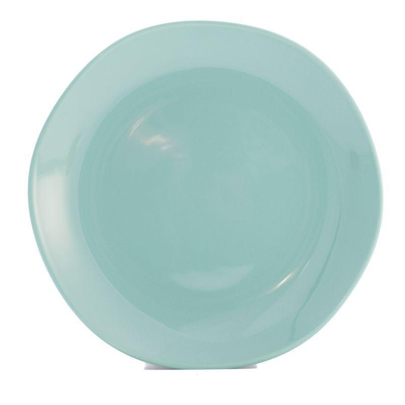 Тарелка обеденная бирюзовая Ritmo