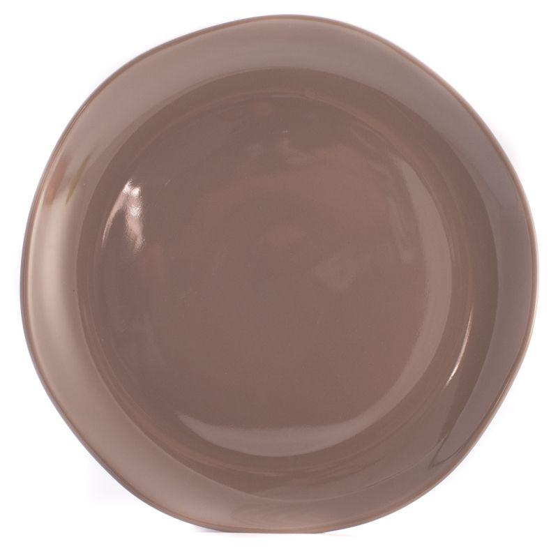 Блюдо коричнево-серое Ritmo