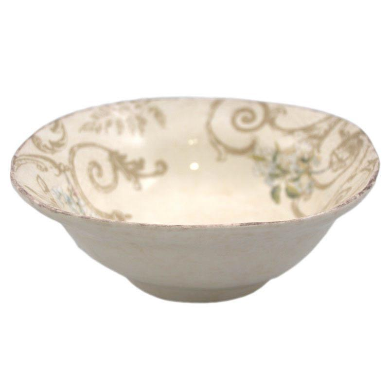 """Тарелка суповая глубокая из керамики """"Шопен"""""""