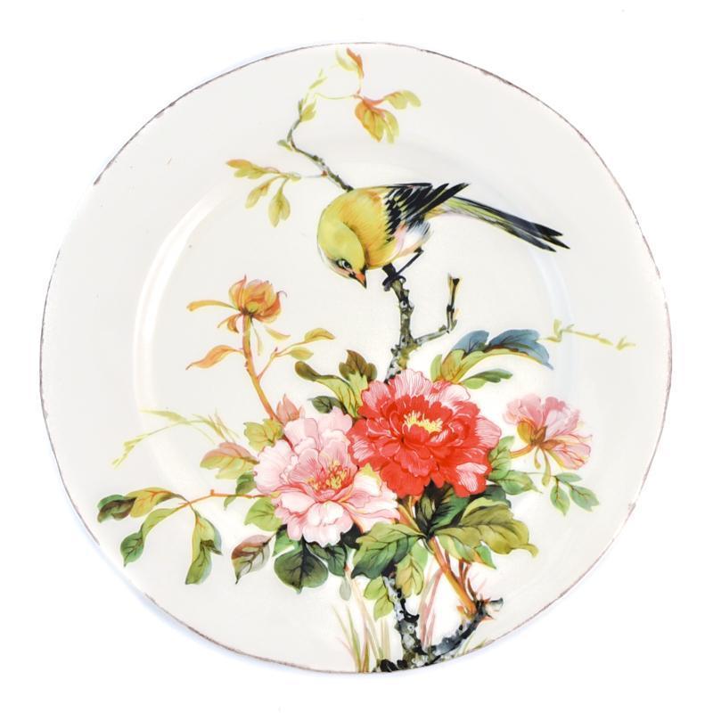 """Большая тарелка из яркой керамики ручной работы """"Весна"""""""