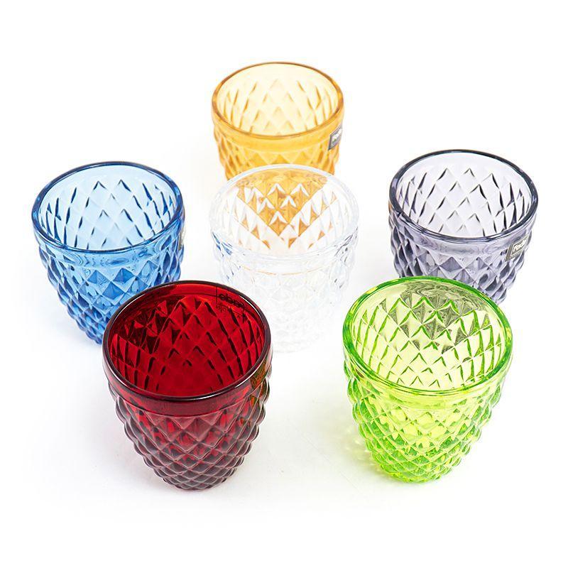 Набор разноцветных стаканов Toscana Maison, 6 шт