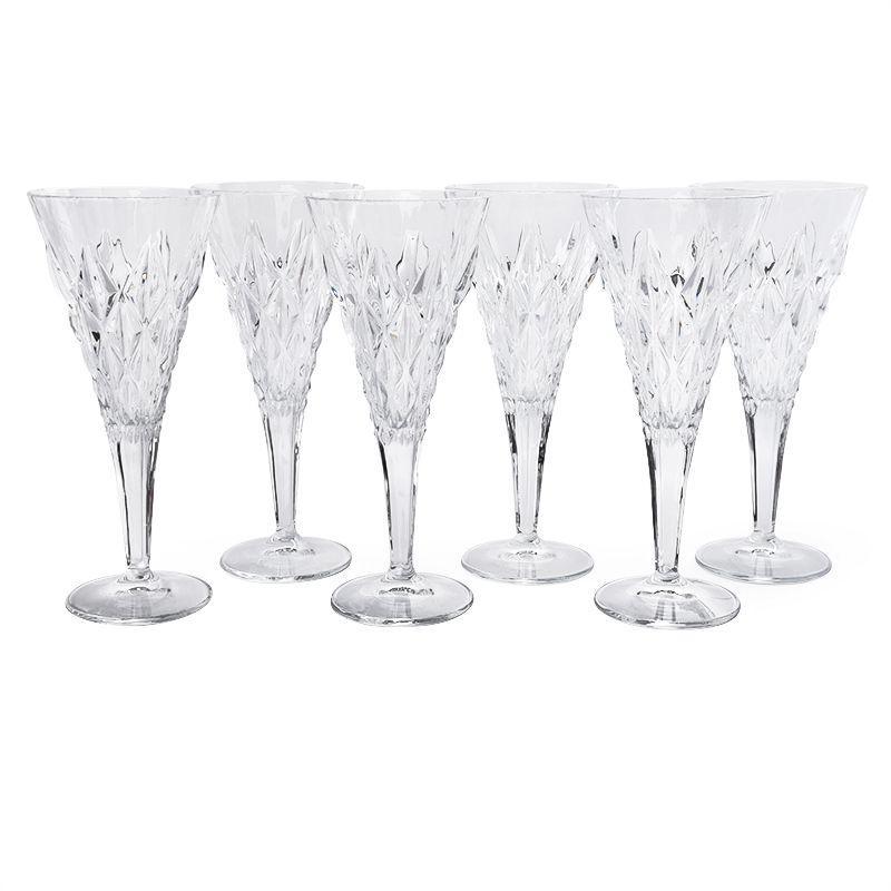 Набор бокалов с крупным рельефным декором Strong 6 шт.
