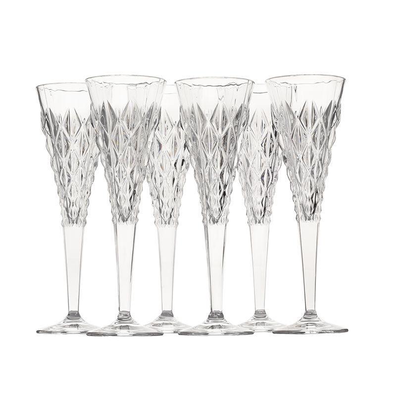 Набор бокалов для шампанского Strong, 6 шт