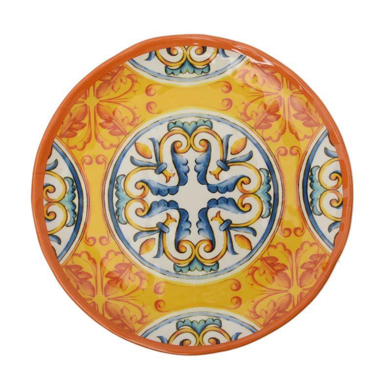 Тарелка десертная из меламина с орнаментом Medicea