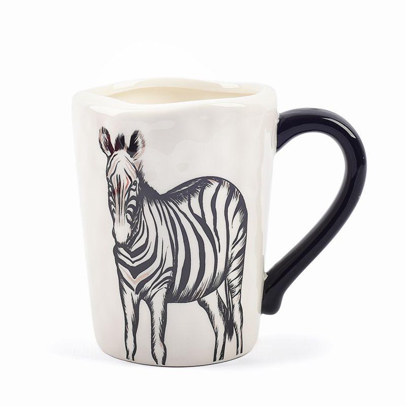 Чашка чайная с изображением зебры Masai