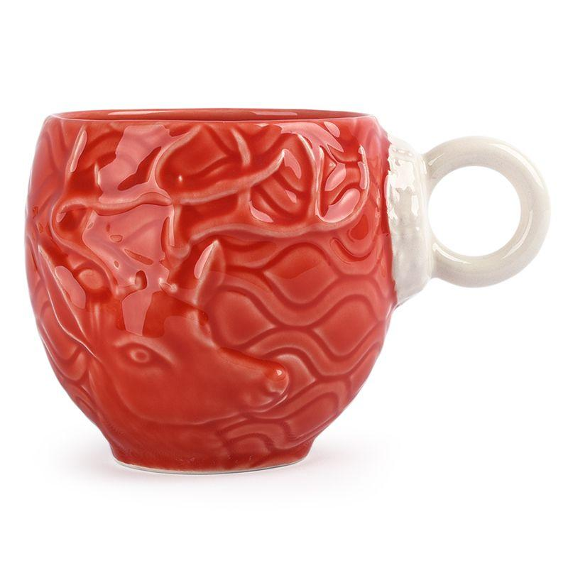 "Чашка красная ""Новогоднее чудо"" Bordallo"