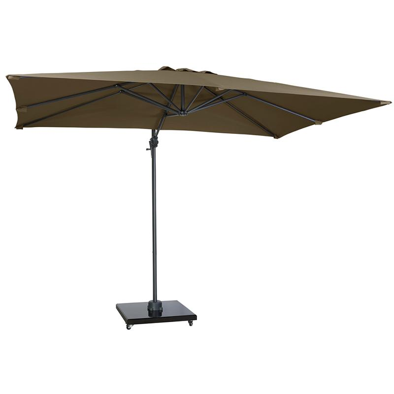 Уличный зонт с поворотом на 360° Falcon T1 Taupe