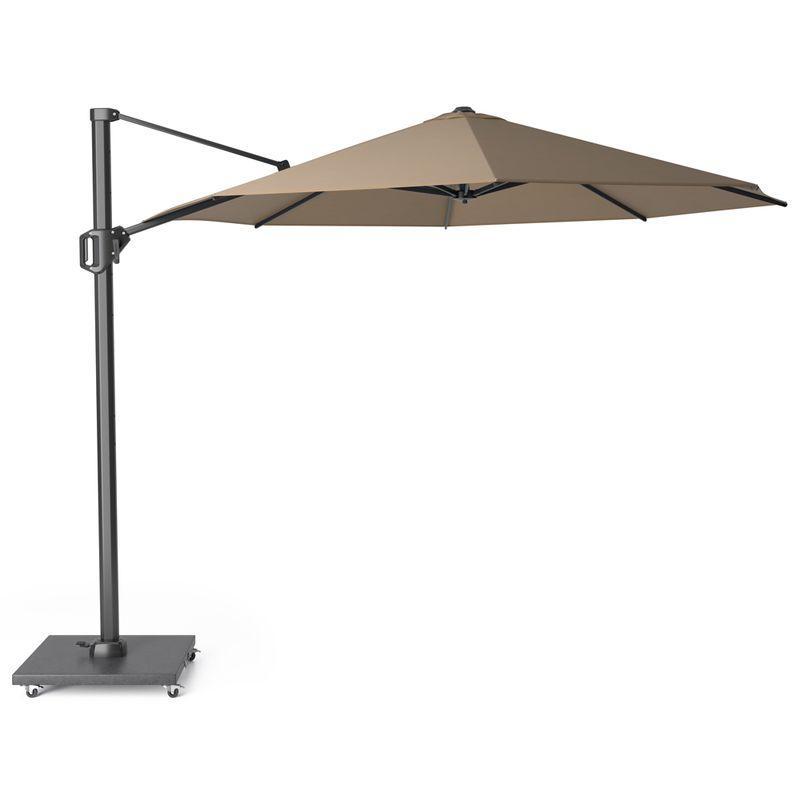 Зонт солнцезащитный для улицы цвета тауп Challenger T1