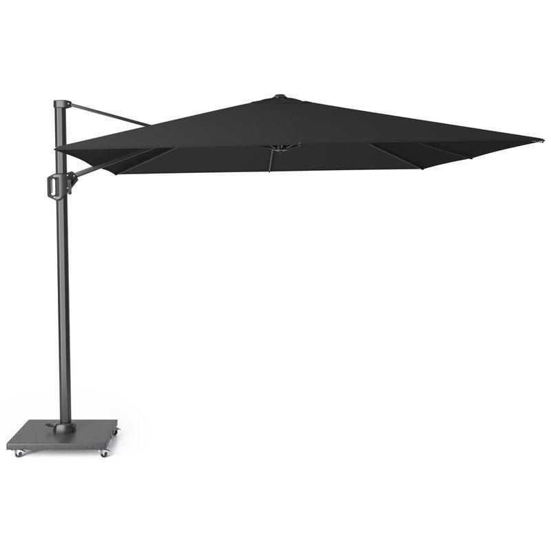 Зонт для сада большой черный Challenger T1