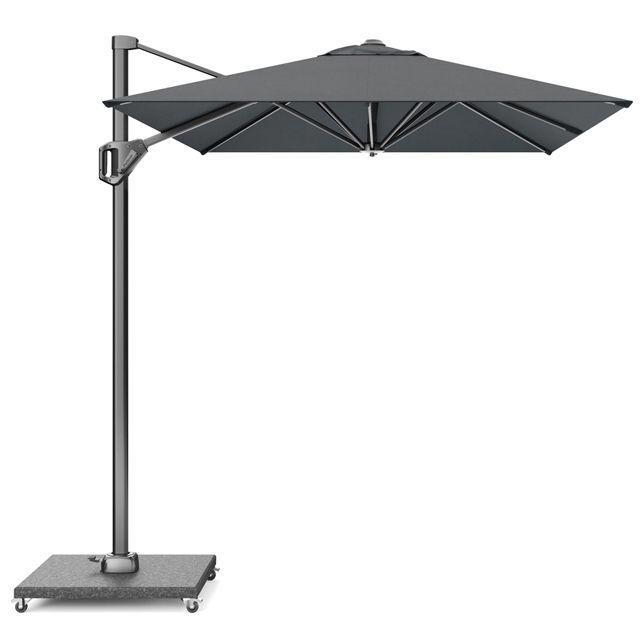 Уличный зонт большой цвета антрацит Voyager T1