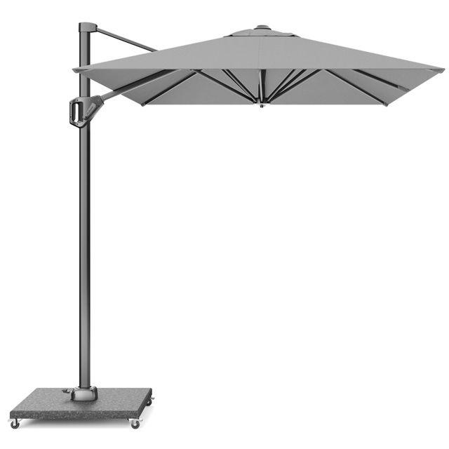 Уличный зонт большой светло-серый Voyager T1