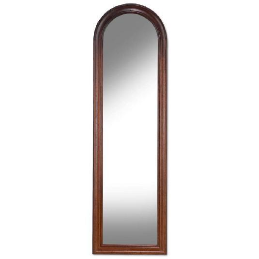 Высокое зеркало для прихожей или спальни в деревянной раме
