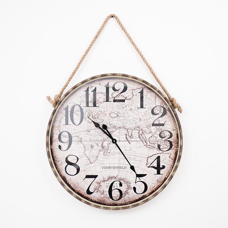 Часы в винтажном стиле Bob Kensington Station Antique Clocks