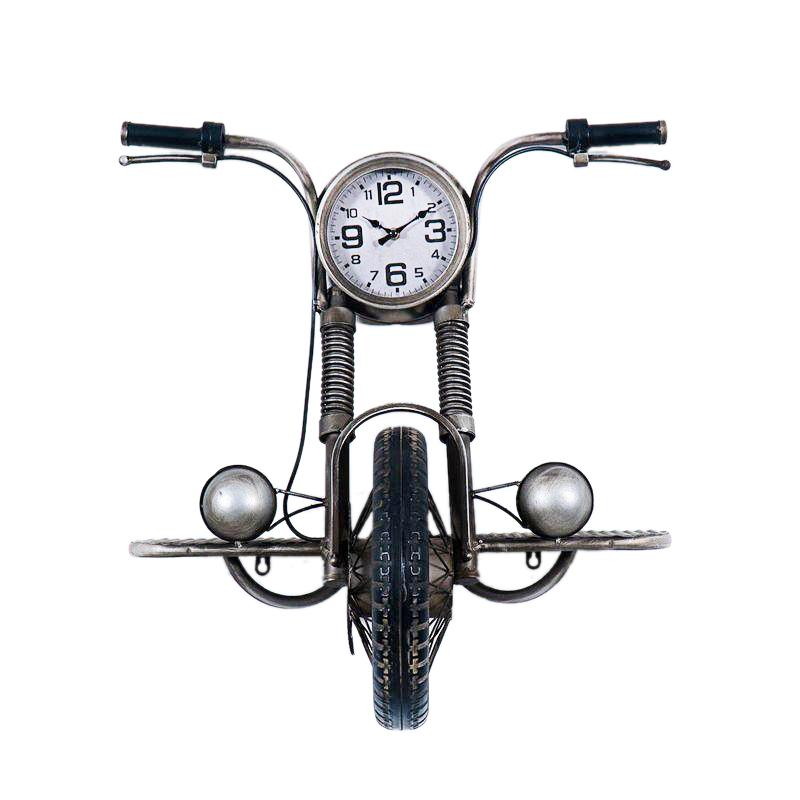 Дизайнерские часы в виде мотоцикла Davids Loft Clocks & Co
