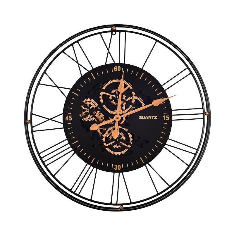 Часы с открытым механизмом Renske Skeleton Clocks