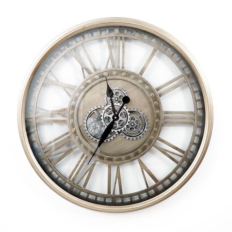 Часы настенные большие Levi Skeleton Clocks