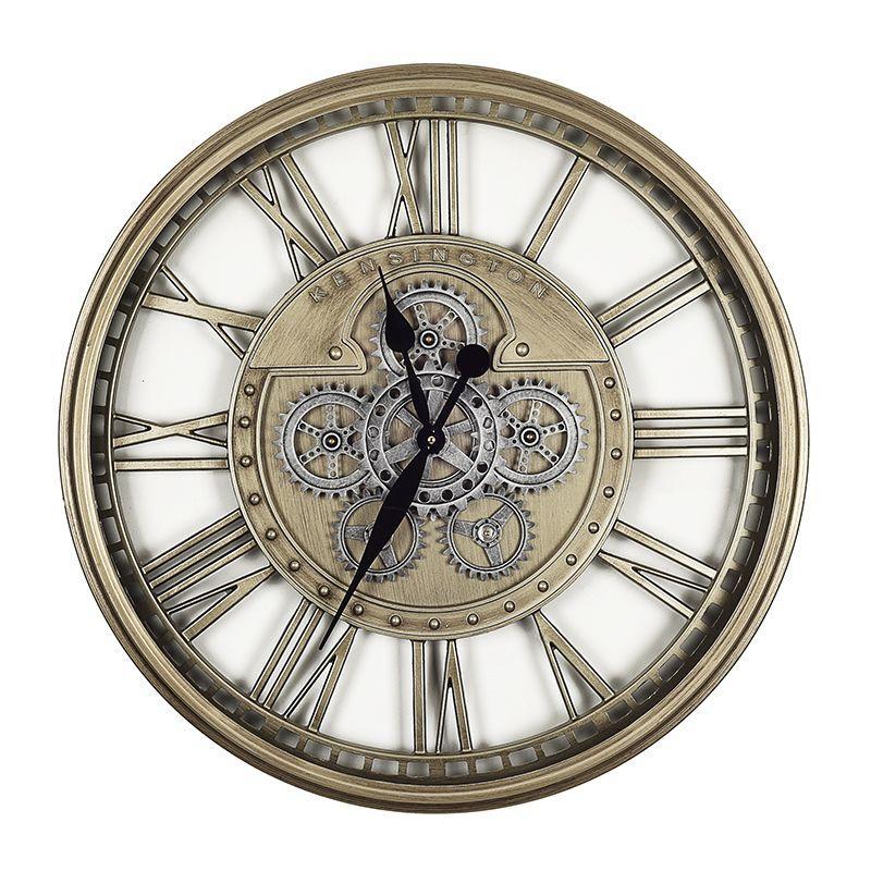 Часы с открытым механизмом в винтажном стиле Levi Skeleton Clocks