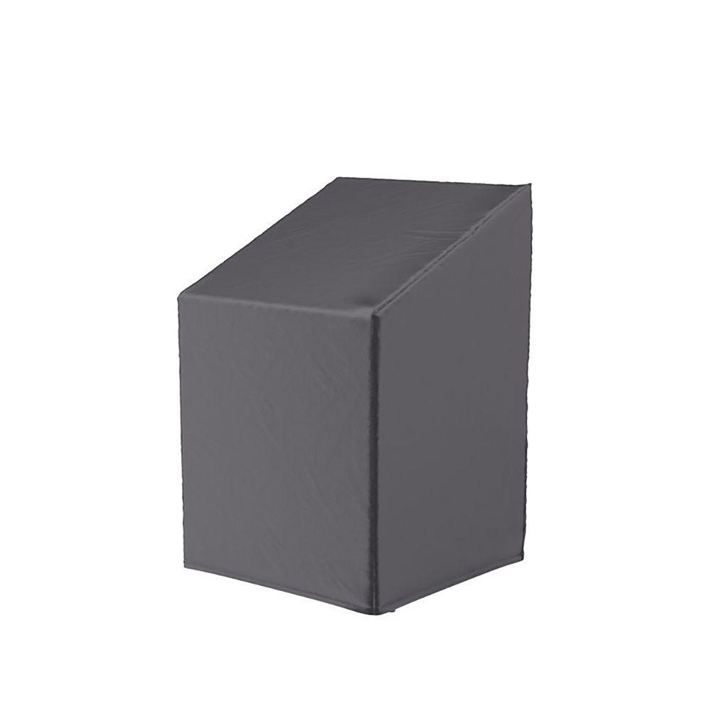 Защитный чехол цвета антрацит для садовых стульев Platinum