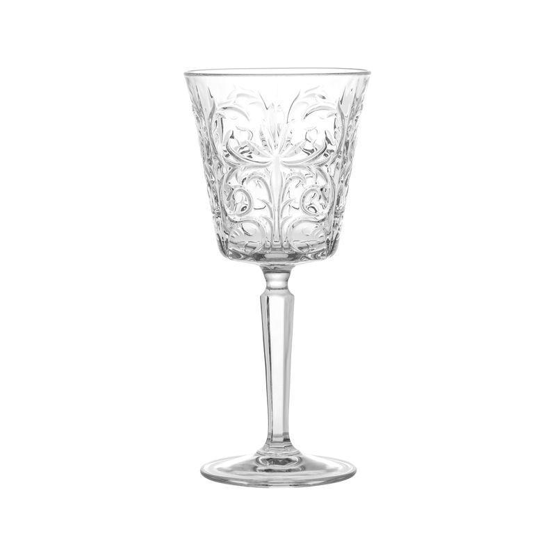 Комплект бокалов для вина с рельефным узором Royal 4 шт.