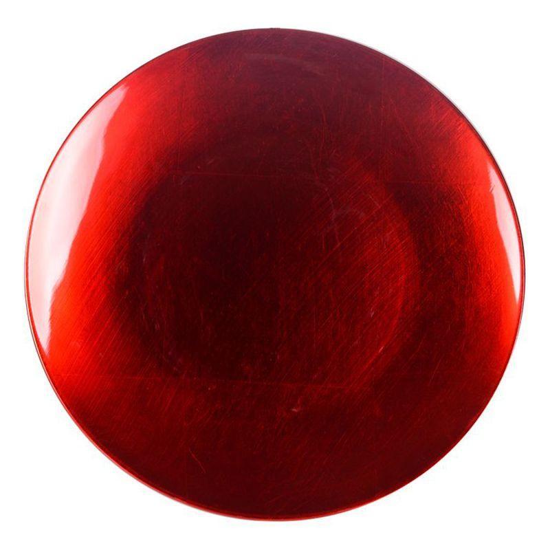 Блюдо декоративное красного цвета Bastide