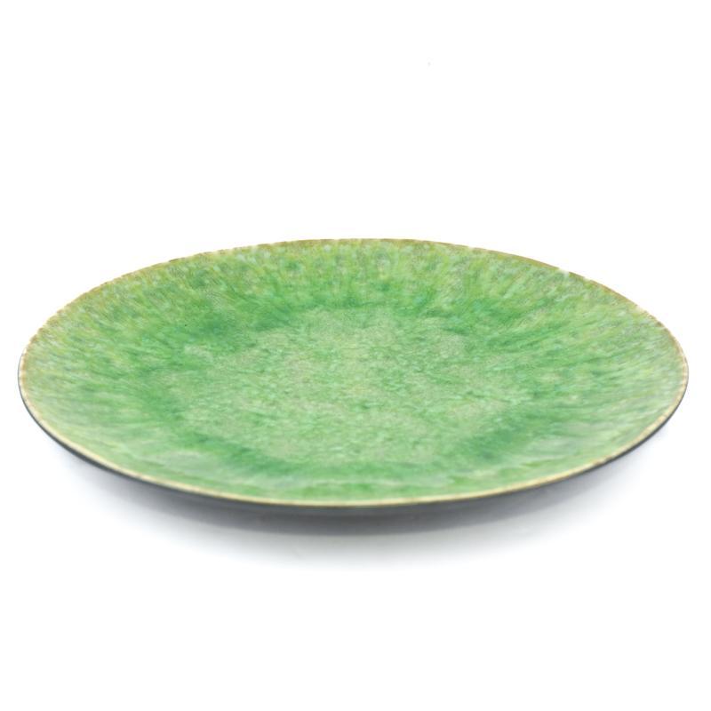 Тарелка подставная зелёная Riviera