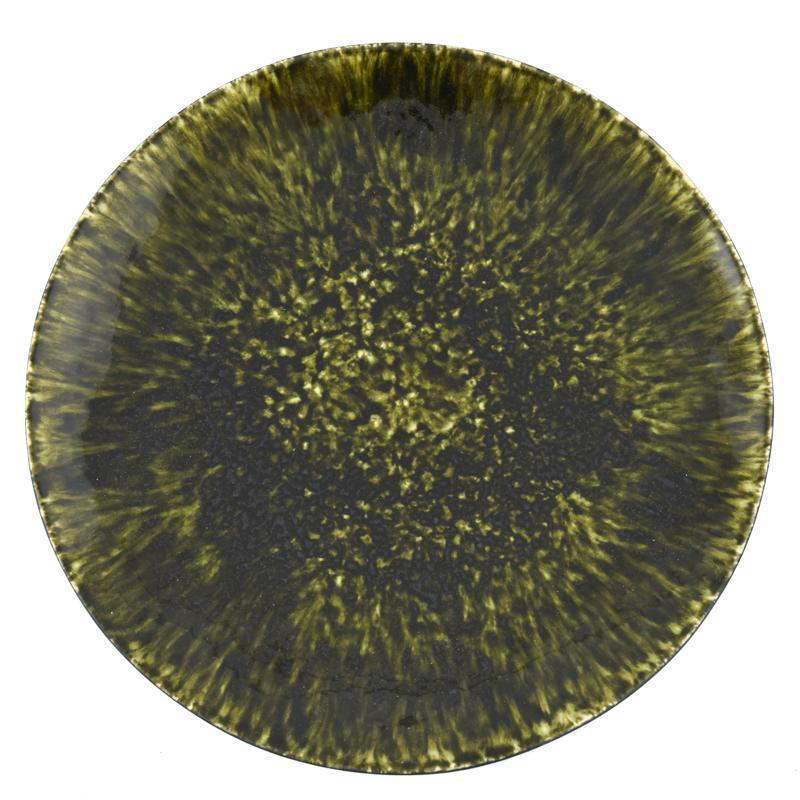 Тарелка подставная тёмно-зелёная Riviera