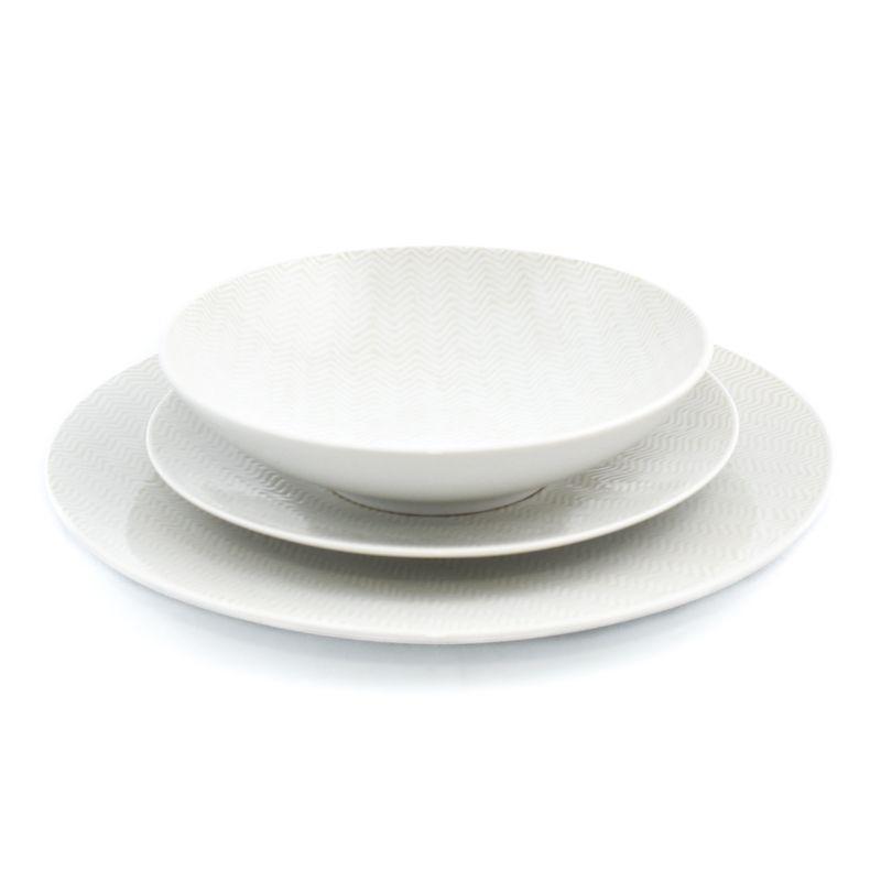 Комплект тарелок Chevron