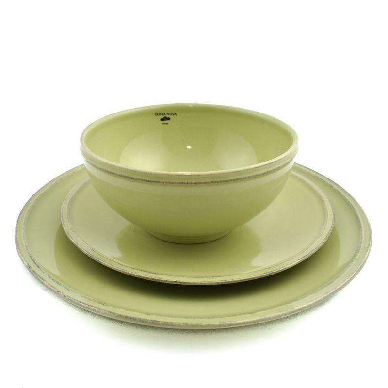 Комплект тарелок Friso зелёный