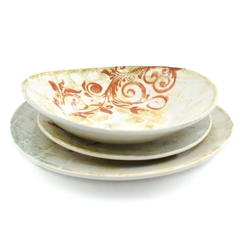 "Комплект тарелок в этно-стиле ""Кантри"""