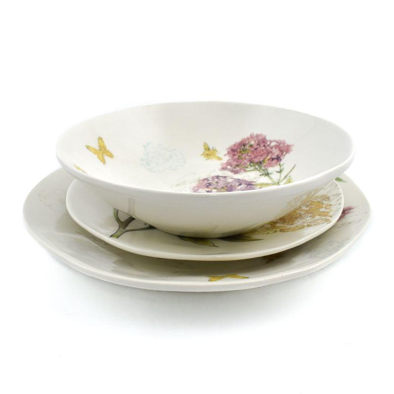 """Комплект тарелок """"Гортензия"""""""
