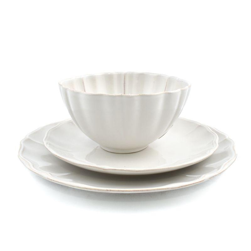 Комплект тарелок Alentejo белый