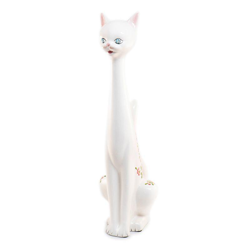 """Статуэтка с цветочным узором """"Кошка"""""""