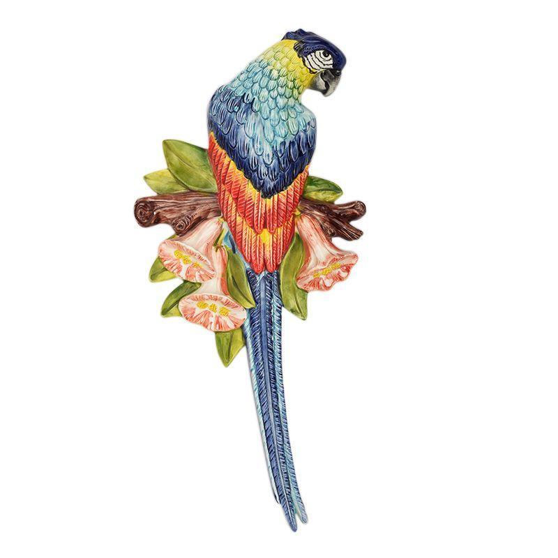 """Декор настенный для кухни """"Синий попугай"""""""
