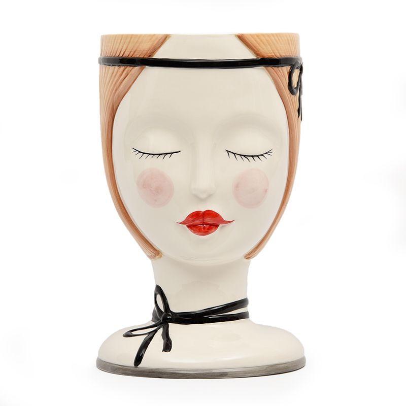 Ваза керамическая в стиле абстрактной скульптуры Naif