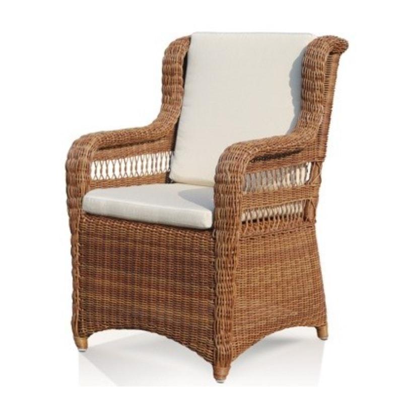 Плетеное обеденное кресло Ebony