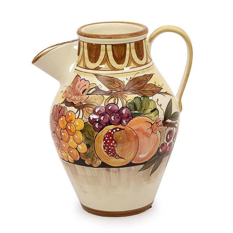 Керамический кувшин с оригинальной лейкой Frutta di Campo