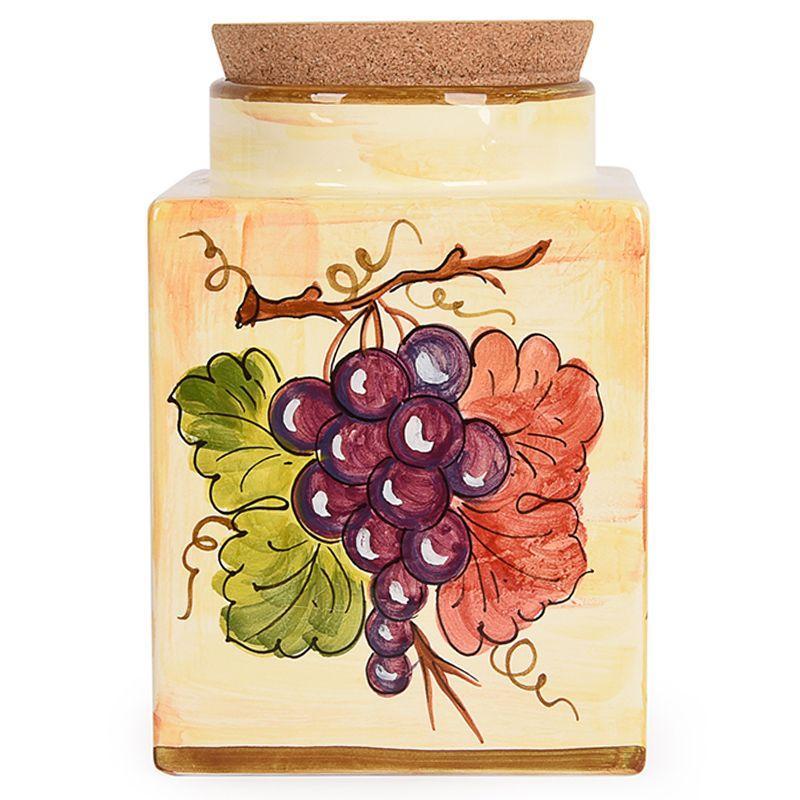 Большая емкость для хранения с пробкой Frutta di Campo