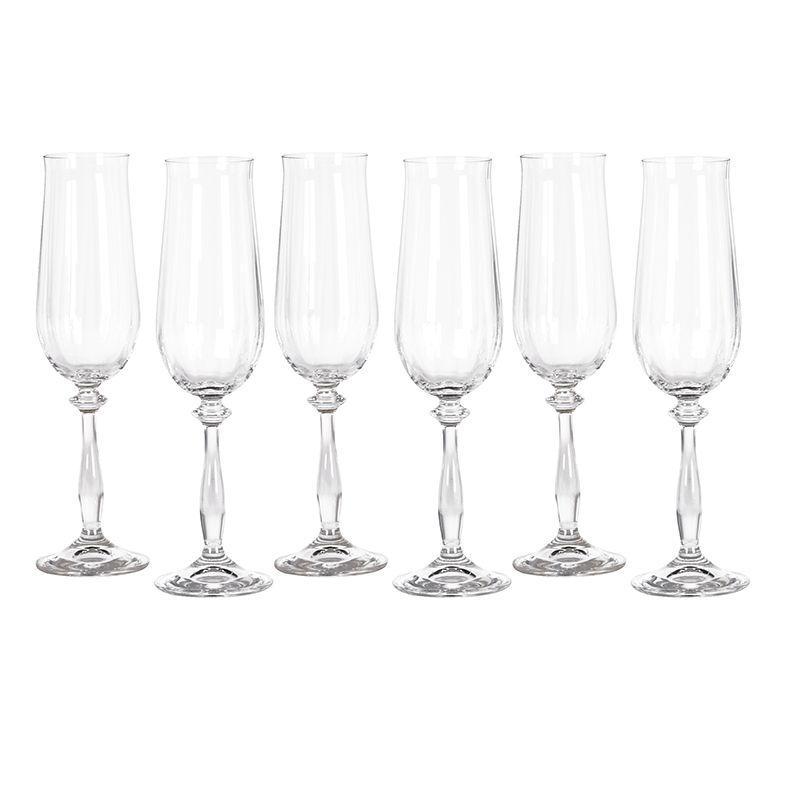 Набор из 6-ти бокалов для шампанского Villa Grazia Premium