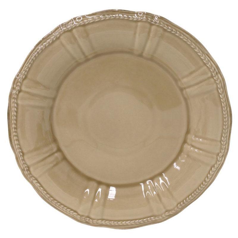 Тарелка подставная коричневая Village