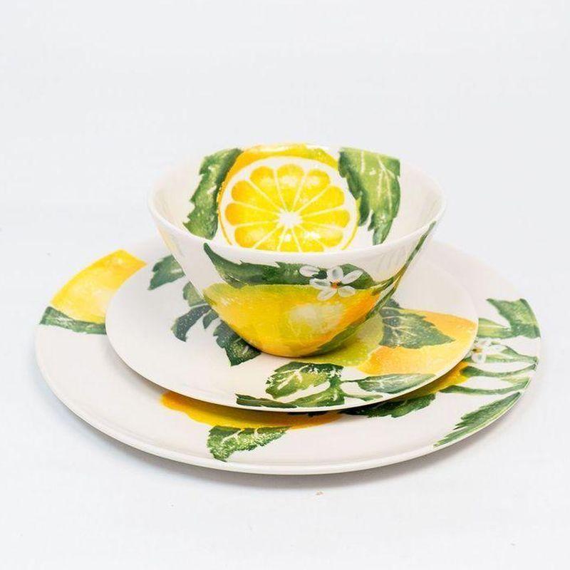 """Комплект тарелок """"Солнечный лимон"""""""