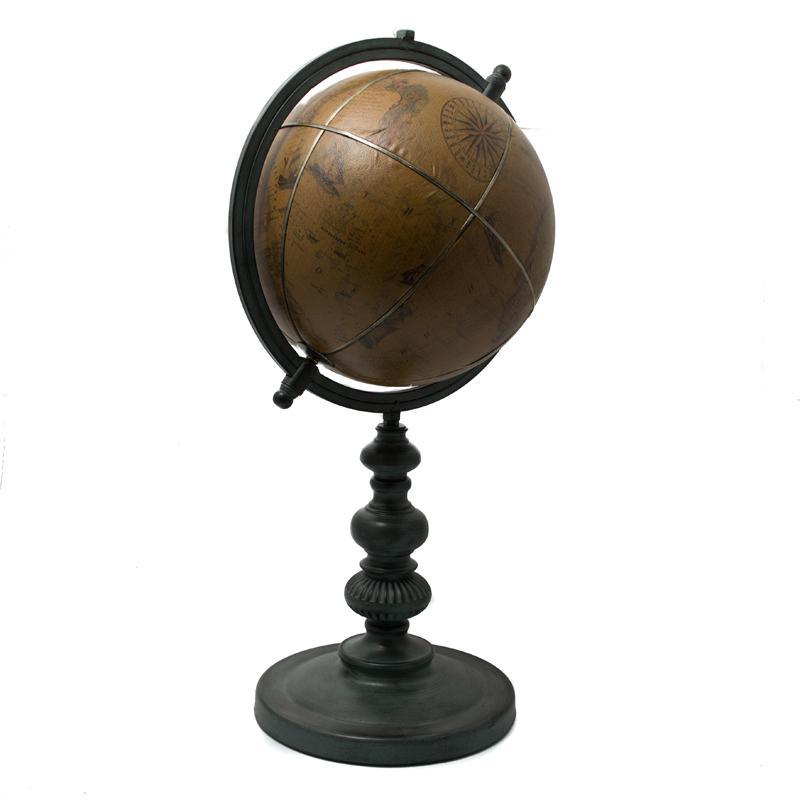 Глобус деревянный