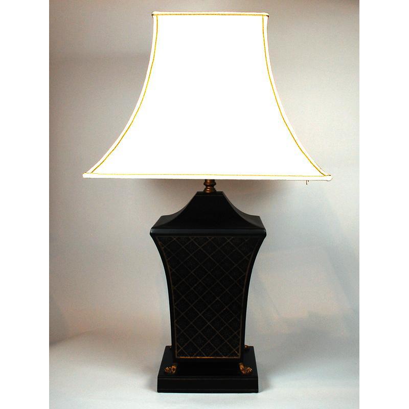 Настольная лампа с массивной колонной Leone Aliotti